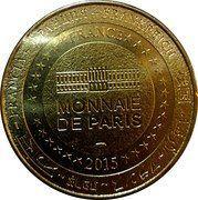 Monnaie de Paris Tourist Token - Berck-sur-Mer (Les cabines de plages) – reverse