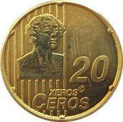 20 Xeros Ceros (Russia Euro Fantasy Token) – reverse