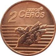 2 Xeros Ceros (San Marino Euro Fantasy Token) – reverse