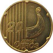 20 Xeros Ceros (Norway Euro Fantasy Token) – reverse