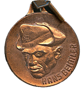 Medal - The best in the Hans Beimler Competition – obverse