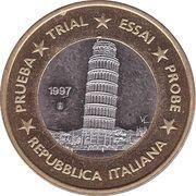 1 Euro (Italy Euro Fantasy Token) – obverse