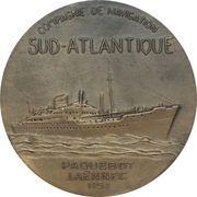 """Medal - Compagnie de Navigation paquebot """"Laënnec"""" – obverse"""