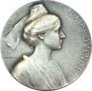 """Medal - Compagnie Generale Transatlantique """"La Provence"""" – reverse"""