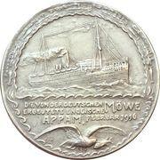 Medal - Lieutnant Berg naval succeses on SMS Möwe – reverse