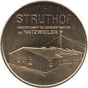 Monnaie de Paris Tourist Token - Struthof (Ancien camp de concentration de Natzweiler) – obverse