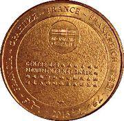 Monnaie de Paris Tourist Token - Abbaye du Mont-Saint-Michel – reverse