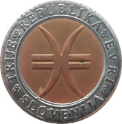 3 Euro (80th Anniversary of Prekmurje joining the homeland) – obverse