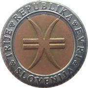 3 Euro (50th Anniversary of part of Primorska joining homeland) – obverse