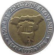 3 Euro (150th Anniversary of united Slovenia) – reverse