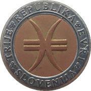 3 Euro (Millennium) – obverse