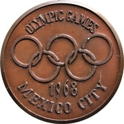 Medal - 1968 Olympic Games (Mexico City) – obverse