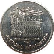 Medal - Festung Königstein – reverse