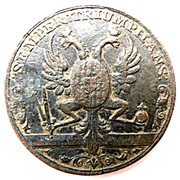 Medal - Coronation of Francis I to Holy Roman Emperor – reverse