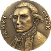 """Medal - James Cook """"Endeavour"""" – obverse"""