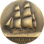"Medal - James Cook ""Endeavour"" – reverse"