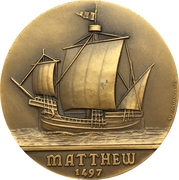 Medal - Giovanni Caboto