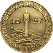 Medal - Centenary of the naval museum – reverse