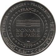 Monnaie de Paris Tourist Token - Exposition Thomas Schütte (Alte Freunde) – reverse