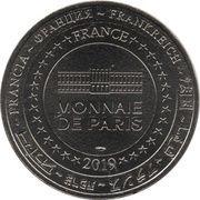 Monnaie de Paris Tourist Token - Exposition Thomas Schütte (Blume) – reverse
