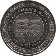 Monnaie de Paris Tourist Token - Exposition Thomas Schütte (Luise) – reverse