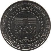 Monnaie de Paris Tourist Token - Exposition Thomas Schütte (Woche) – reverse