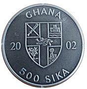 500 Sika (Convex - Athens Olimpics) – obverse