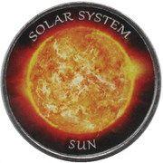 1 Rupee (Sun) – reverse