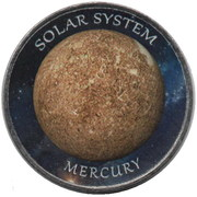 1 Rupee (Mercury) – reverse