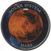 1 Rupee (Mars) – reverse