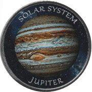 1 Rupee (Jupiter) – reverse