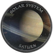 1 Rupee (Saturn) – reverse