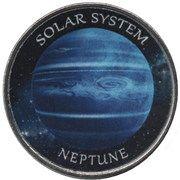 1 Rupee (Neptune) – reverse