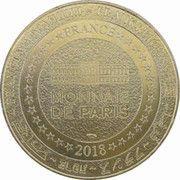 Monnaie de Paris Tourist Token - Disneyland Paris (Tic et Tac) – reverse