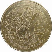 Monnaie de Paris Tourist Token - Disneyland Paris (90 years Mickey) – obverse