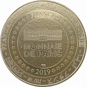 Monnaie de Paris Tourist Token - Disneyland Paris (90 years Mickey) – reverse