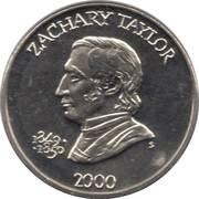 5 Dollars (Zachary Taylor) – reverse