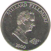 5 Dollars (Millard Fillmore) – reverse