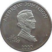 5 Dollars (Andrew Johnson) – reverse