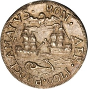 Proclamation Medal - Charles III. – reverse