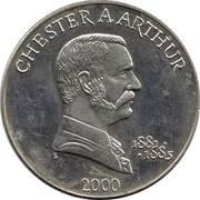 5 Dollars (Chester A. Arthur) – reverse