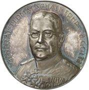 Medal - Field Marshal Colmar Freiherr von der Goltz – obverse