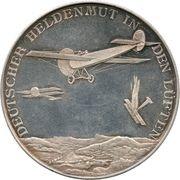 Medal - Flying ace Oswald Bölcke – reverse