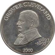 5 Dollars (Grover Cleveland, Second Term) – reverse