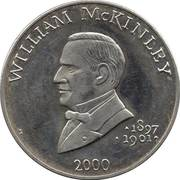 5 Dollars (William McKinley) – reverse