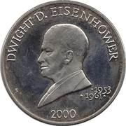 5 Dollars (Dwight D. Eisenhower) – reverse