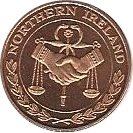 1 Cent (Northern Ireland Euro Fantasy Token) – obverse