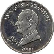 5 Dollars (Lyndon B. Johnson) – reverse