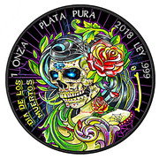 "1 Onza ""Libertad"" (Dia de Los Muertos II) – reverse"