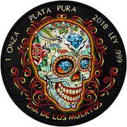 """1 Onza """"Libertad"""" (Dia de los Muertos I) – reverse"""